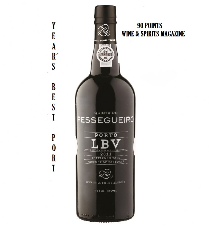 Porto LBV 2011 – 90 pts & Year's Best Port – W&S December 2017