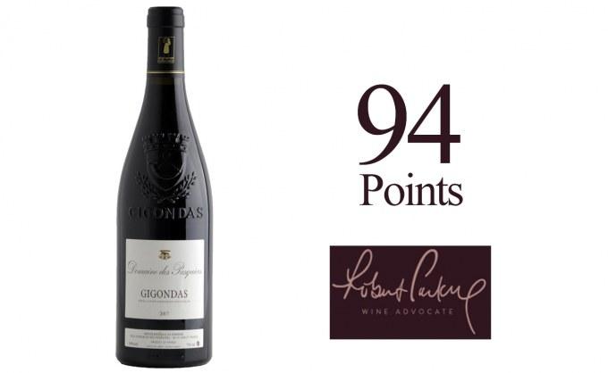 Domaine des Pasquiers_Gigondas 2017_94 pts_Wine Advocate