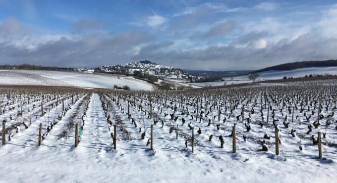 February La Gemiere snow winter